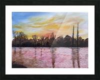 sunrise Picture Frame print