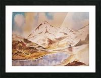 Ladakh Stream Picture Frame print