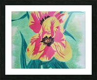 Flowers1 Picture Frame print