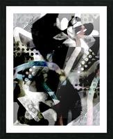 j A Z U Picture Frame print