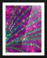 Elegant Fan Picture Frame print