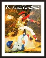 1972 St. Louis Cardinals Picture Frame print