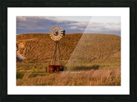 Late Afternoon Drink In The Sandhills Picture Frame print