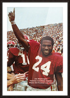 1974 oklahoma sooners football national champions poster sports wall art Picture Frame print