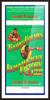 1988 tyson vs holmes fight trump plaza Picture Frame print