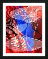 Z I T U Picture Frame print