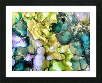 Forest Echoes Picture Frame print