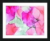 Happiness in Pink Picture Frame print