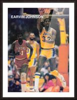 1983 Magic Johnson LA Lakers Picture Frame print