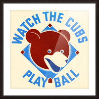 1940_Major League Baseball_Chicago Cubs Picture Frame print