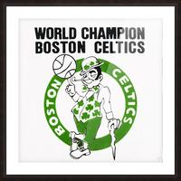 1981 Boston Celtics World Champions Art Reproduction Picture Frame print