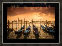 Venise Picture Frame print