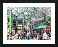 Borough Market London Picture Frame print