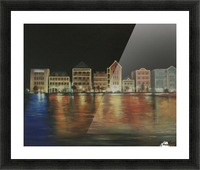 curacao  Picture Frame print