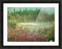 marshes  Picture Frame print