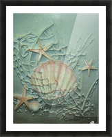 Starfish Image Art Picture Frame print