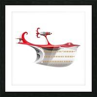 Avione Pelikanum Solo Picture Frame print