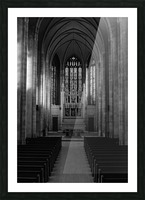 Trinity College Chapel Picture Frame print