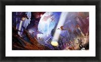 Lights On - Alien Megastructure Rama V Picture Frame print
