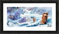 Lost Antarctida Picture Frame print