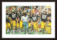 1988 colorado football Picture Frame print
