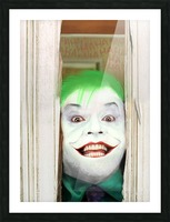 Heres The Joker Picture Frame print