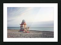 Miami Beach 029 Picture Frame print