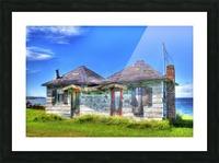 Cabines de plage Picture Frame print