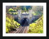 Clayton Tunnel in Sussex England Picture Frame print