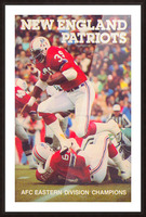 1979 new england patriots vintage nfl poster Picture Frame print