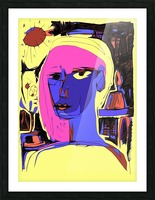 Women of Reboot Series   ⠀⠀⠀⠀⠀⠀⠀⠀⠀⠀⠀⠀ Hel Mort Picture Frame print