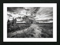 The Barnyard Picture Frame print