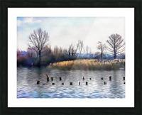 Lago di Chiusi Tuscany Picture Frame print