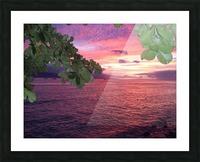 Maui Sunset Picture Frame print