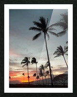 Maui Twilight Picture Frame print