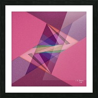 ABSTRACT ART 07 Picture Frame print