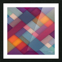 ABSTRACT ART 06 Picture Frame print
