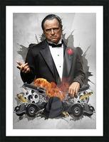 Vito Corleone Picture Frame print