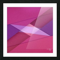 ABSTRACT ART 11 Picture Frame print