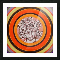 Medusa del Bernini Picture Frame print