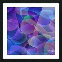 ABSTRACT ART 24 Picture Frame print