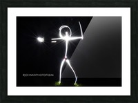 Stickman series  Picture Frame print