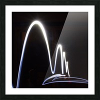 Light Trail  Picture Frame print