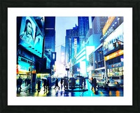 Time square New-York  Picture Frame print