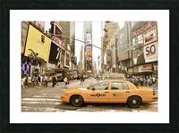 Newyork newyork Picture Frame print