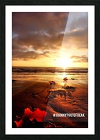 Sunrise fog your decor Picture Frame print