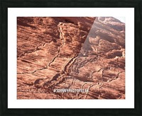 Rock canyon Picture Frame print