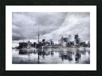 Toronto on the ice  Impression et Cadre photo
