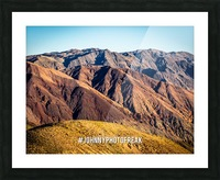 Death Valley Picture Frame print