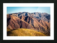Death Valley mountain Picture Frame print